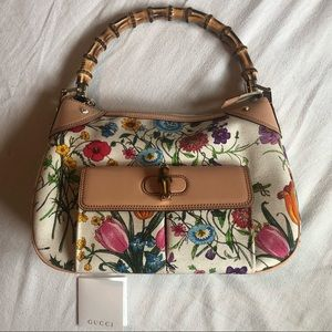 🌸Floral Gucci purse🌸 Authentic
